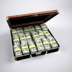 briefcase full of money Donald Trump Presidential Candidate