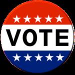 vote sticker Donald Trump Presidential Candidate