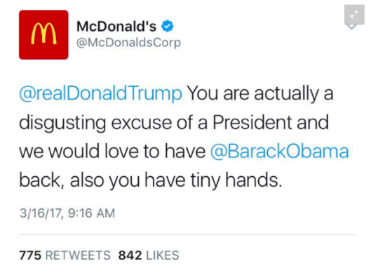 McDonald's went rogue collective pain-body