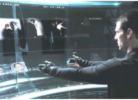 minority report real time face technology