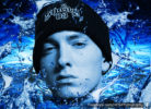 eminem in blue