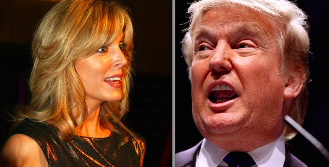 Marla Maples and Donald Trump divorce
