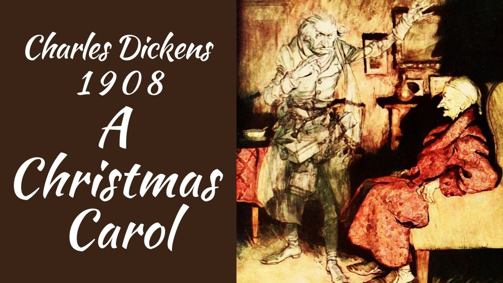 A Christmas CArol, Scrooge, tom rickettes, vintage christmas, charles dickens
