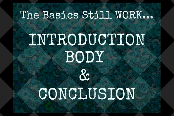 story structure, introduction body and conclusion